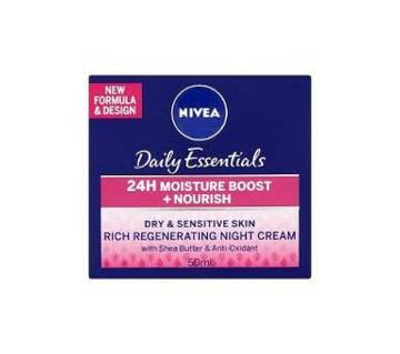 NIVEA REGENERATING NIGHT CREAM Poland