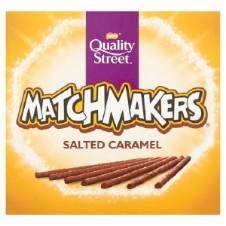 নেসলে Quality Street Salted Caramel Matchmakers UK