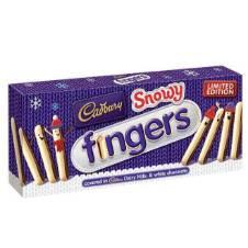 Cadbury Snowy Fingers (ফিঙ্গার ) UK