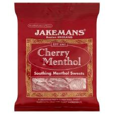 Jakemans Cherry Menthol Soothing Sweets UK