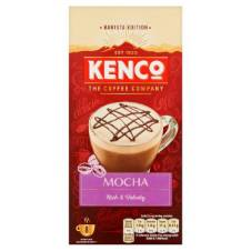 Kenco Mocha Instant কফি 8 Sachets Netherlands