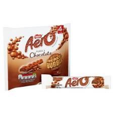 Aero Milk Chocolate Bubbly Bar 4 Pack UK
