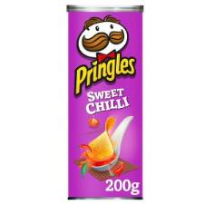 Pringles Sweet Chilli Crisps UK