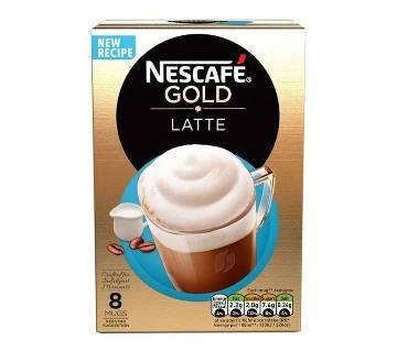 Nescafe Gold Latte কফি 8 Sachets UK