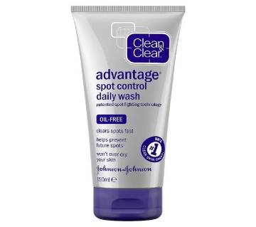 Clean & Clear Fast Action Daily Facial Wash - France