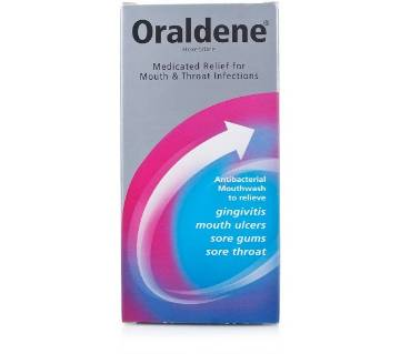 Oraldene Antibacterial Mouthwash 200ml - UK