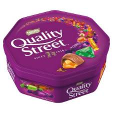 Quality Street Sweets Tub UK