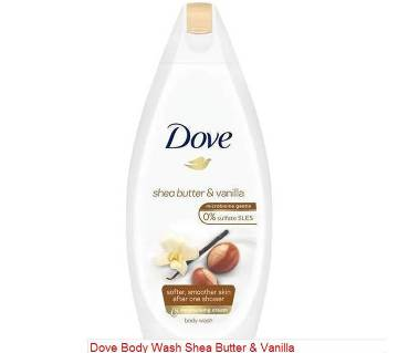 Dove Shea Butter and Vanilla Body Wash-225ml-Germany