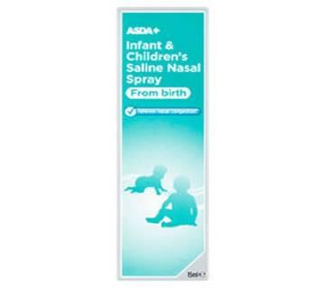 Infant and Children Salaine Nasal স্প্রে UK