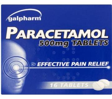 Galpharm Paracetamol 500mg Tablets - UK