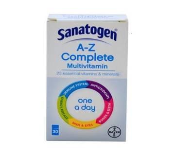 Sanatogen A-Z Complete মাল্টিভিটামিন - UK
