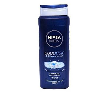 Nivea Men CoolKick Shower Gel 500ml - Germany