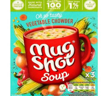 Mug Shot Vegetable Chowder Soup UK