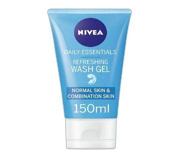 NIVEA Refreshing Face Wash 150ml Germany