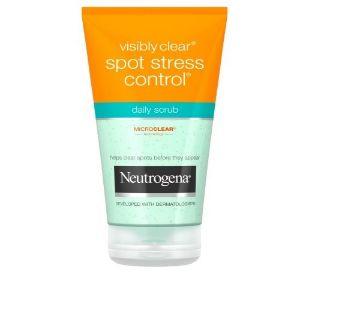 Neutrogena Visibly Clear Spot Stress Control Daily Scrub: 150ML France