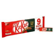 KitKat Mint Dark Chocolate 2 Finger 9 Pack UK