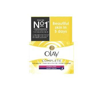 Olay Complete Care Moisturiser Night Cream Poland