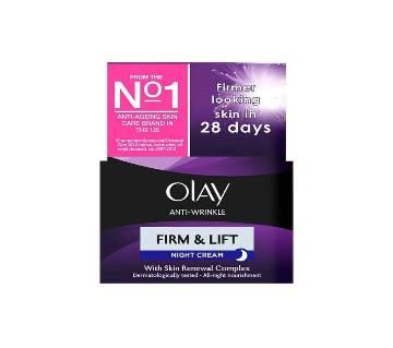 Olay Anti-Wrinkle Firm & Lift Moisturiser Night Cream Poland