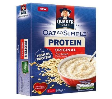 Quaker Oat So Simple Protein Original Porridge - UK
