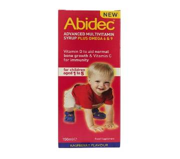 Abidec Advanced Multivitamin Syrup (UK)
