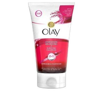 Olay 2in1 Hydration + Purifying Cleansing Facewash - 150ml