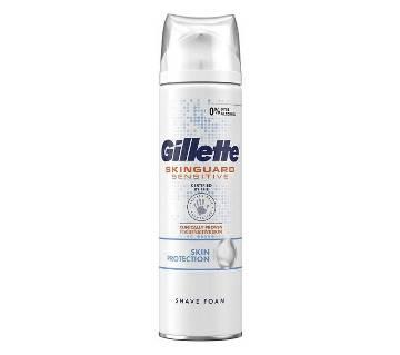 Skinguard Mens Sensitive Shaving Foam-250ml-UK