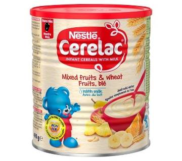 Nestle Cerelac Mixed Fruits & Wheat with Milk 400gm UK