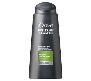 Dove Men Care Fresh Clean 2 In 1 Shampoo-250ml-Poland