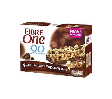 Fibre One Milk Chocolate Popcorn bars EU