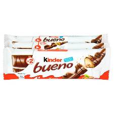 Kinder Bueno মিল্ক এন্ড হেজেলনাট Bars UK