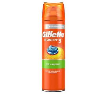 Gillette Fus5 Ultra Sensitive Shaving Gel UK