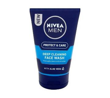 Nivea Men Deep Cleaning Face Wash Germany