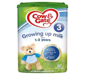 Cow & Gate 3 Growing Up Milk Powder 1+Yrs-800gm-EU