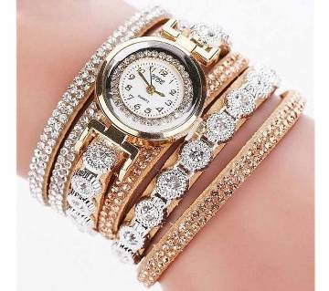 Fashion Luxury Bracelet Ladies Wristwatch