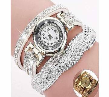 Rhinestone Bracelet Women Watch