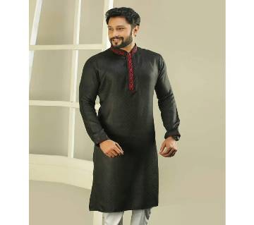Cotton semi long panjabi