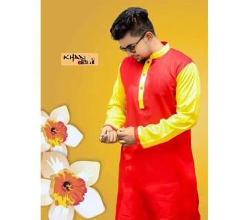সেমি-লং সিল্ক পাঞ্জাবী