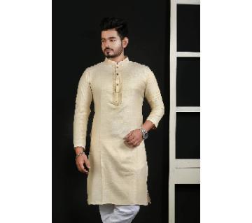 stylish Semi-Long Cotton panjabi