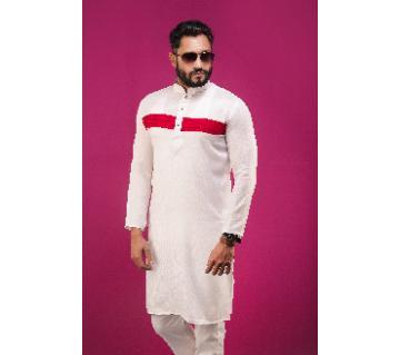 Boishakhi Cotton Semi Long Panjabi