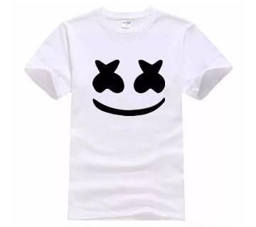 Marshmello Printed Cotton T-shirt