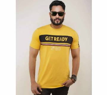 Get Ready Menz Half Sleeve Cotton T Shirt