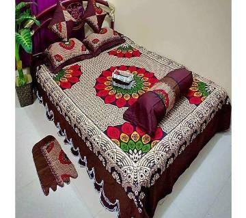 8 piece cotton dauble size bedsheet