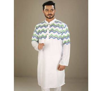 Cotton Punjabi for Men-White