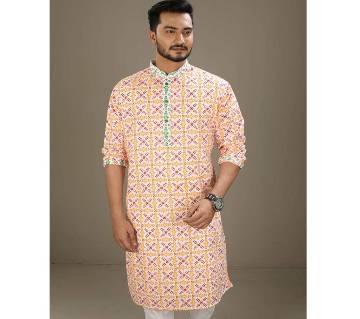 Mens Boishakhi Cotton Punjabi