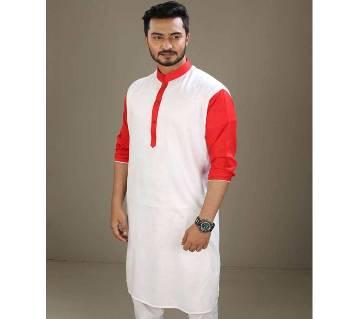 Boishakhi Cotton Punjabi for Men
