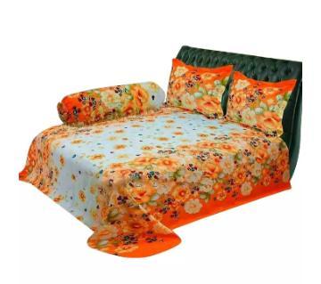 3 piece cotton Bed sheet set