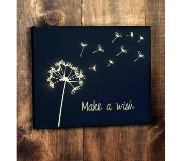 Canvas Painting Make a wish