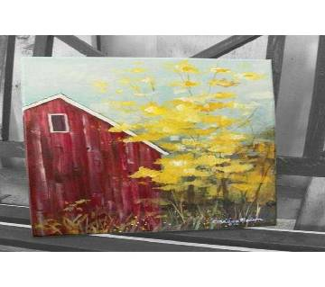 Canvas Painting Home