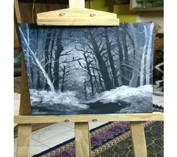 Canvas Painting Winter Park