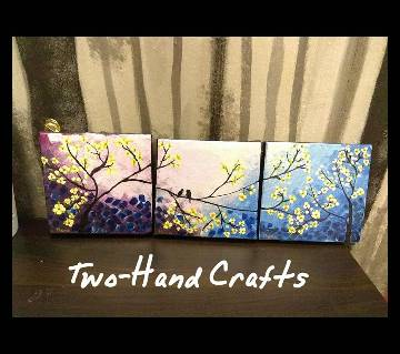 Canvas Painting Two Hand Craft